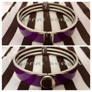 HENRI BENDEL Classic Bangle 💜